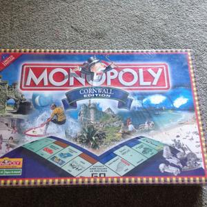Cornwall Edition Monopoly game