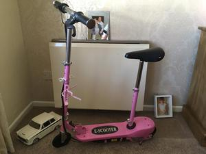 Dareway electric girls scooter in pink bought posot class for Toys r us motorized scooter