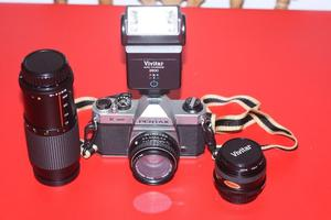 pentax film camera how to use