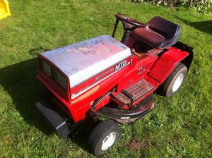 Mtd Lawn Tractor : Barrus shanks ride on lawn mower posot class