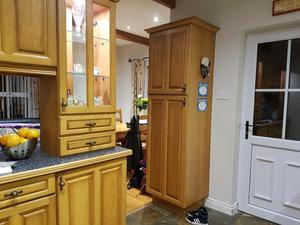Pine kitchen and appliances for sale. Appliances can be sold seperately.