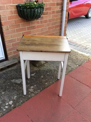 School Desk Old Wooden School Posot Class