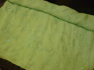 beautiful mint green indian designer saree,wear in any special occassions,weddings,receptions etc...