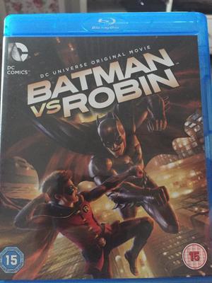 Batman animated Blu-Ray discs