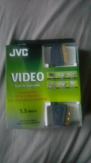 JVC scart to scart cable