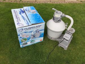 Sand filter pump(as new) for swimming pool