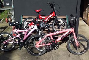 3 X Childrens Bikes £45