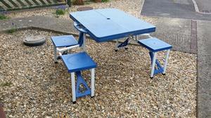 Folding Picnic/Camping Table. £25.