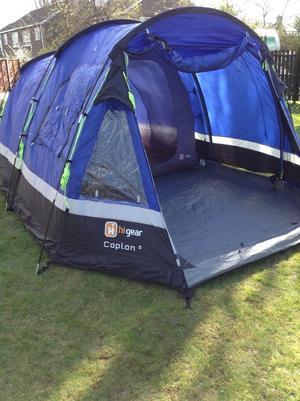 Hi gear caplan 5 man tent with front canopy & Hi gear caplan 5 man tent with front canopy | Posot Class