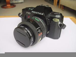 Pentax P30 Camera SMC Pentax-F Zoom -  Made in Japan