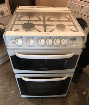 CANNON Chester White Gas Cooker 55cm wide & Fully Working Order