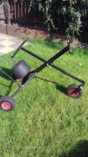how to make a trolley go kart