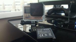 GoPro Hero 4 Silver Inc Spare Batteries