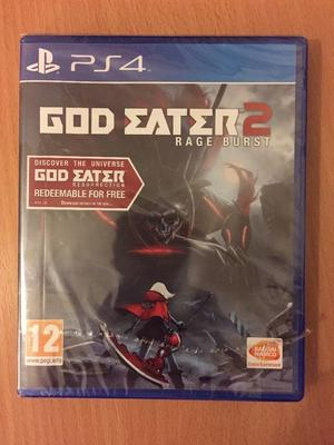 God Eater 2 Rage Burst PS4 Game