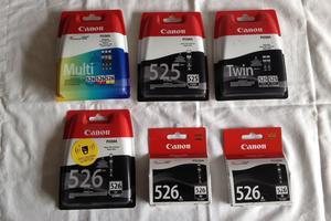 Canon genuine  inkjet cartridges unopened (9 cartridges)