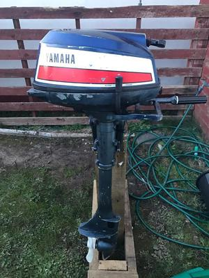 For sale yamaha 5hp outboard engine posot class for Yamaha boat motors for sale