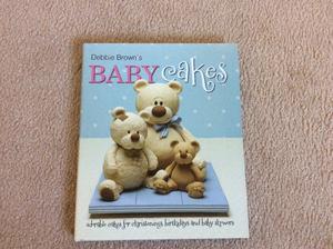 Christening & Baby Cake Decorating Books x 3 hardback books