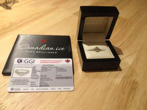 Goldsmiths Millenium Diamond Ring