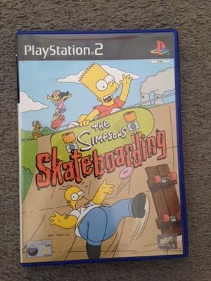 Playstation 2 Game The Simpsons Skateboarding