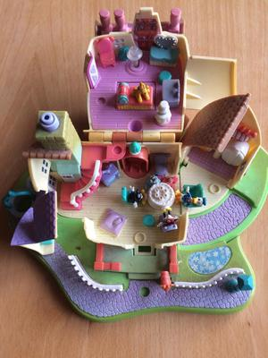 Vintage Polly Pocket Disney Mini & Mickey Mouse House.