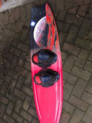 Wakeboard and binding for sale