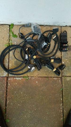 Job lot scart leads