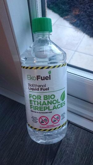 Bio Ethanol Fuel 10 x 1L bottles