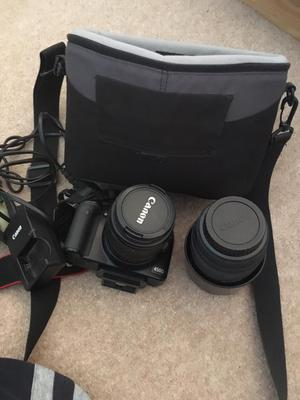 Canon EOS 450D Digital Camera with lenses