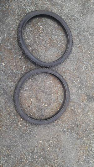 Mountain bike tyres unused 26 x 2.35