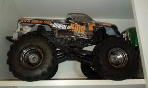 Hpi wheels king rc monster truck