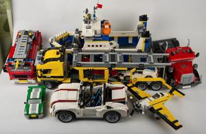 Lego - 7 Creator vehicle sets - almost  pieces