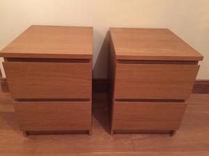 ikea aspelund bedside tables west yorkshire posot class. Black Bedroom Furniture Sets. Home Design Ideas