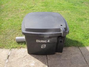 Oase biotec 10 filter tanks for sale oase posot class for Large pond filtration