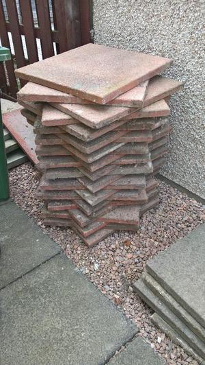 red slabs