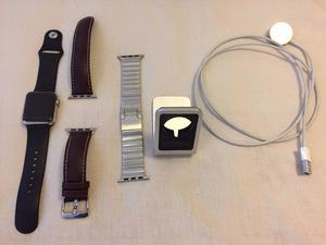 Apple Watch 38mm series 1 stainless steel Plus Accessories