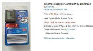 bikemate cycle computer instructions