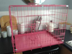 Dog Crate/cage, for small or medium dog