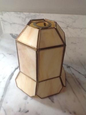 Hexagonal Glass Lampshade