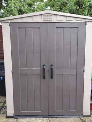 keter 6x6 plastic shed instructions