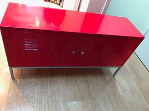 red ikea metal cabinet storage posot class
