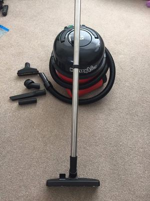 Henry Hoover Xtra twin speed with accessories/tools