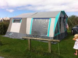 Comanche Petit 2 Berth Folding Trailer Tent Posot Class