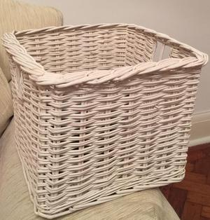 Extra Large Wicker Storage Toyblanket Box Posot Class