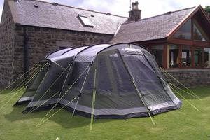 Outwell Montana 6 Tent And Front Porch Extension Posot Class