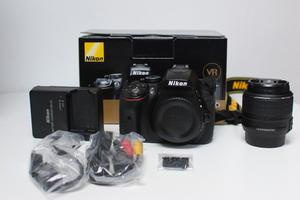 Nikon D camera with mm Nikon lens and accessories