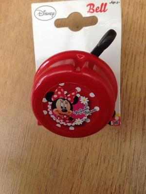 Disney minnie mouse bicycle bell