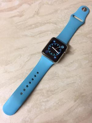 Apple Watch Stainless 38mm Sapphire Glass