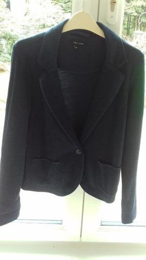 Blue jersey jacket size 12 new