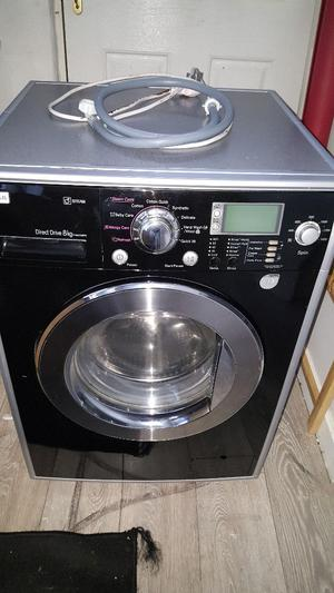 Lg direct Drive 8kg washing machine user Manual kitchenaid