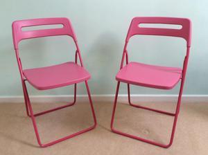 Ikea Pink Nisse Folding Chair Posot Class